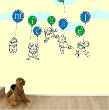 kids with balloons wall decals stickers high style wall decals