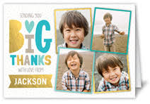 baby boy thank you cards shutterfly