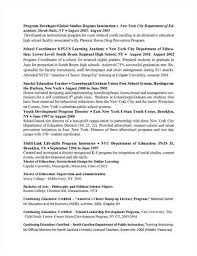 Sample Resume For Special Education Teacher by Download City Traffic Engineer Sample Resume