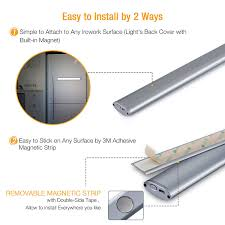 can you put a motion sensor on any light 66 led under cabinet light rechargeable motion sensor closet light