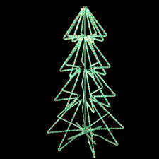 led green rope light tree motif aqlighting