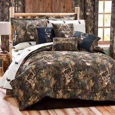 cool comforter sets with natural master bed and charming deer