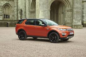orange range rover sport 2016 land rover discovery sport review