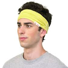 yellow headband mens headband style guide the feel daily by kooshoo