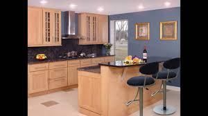 maple shaker kitchen cabinets youtube