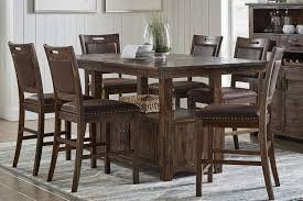 dining room high tables cannon valley adjustable counter height table dining room mor