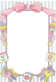 baby clipart frame pencil and in color baby clipart frame