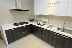 New Kitchen Design Trends Contemporary L Shaped Kitchen Design Trends Ideas With Wooden
