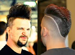 new age mohawk hairstyle real men s mohawk hairstyles men s hairstyles pinterest