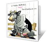 funny birthday cards print free at blue mountain