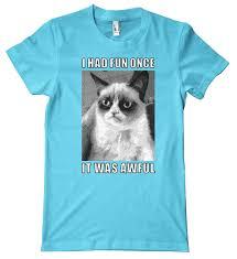 Tshirt Meme - com cat series grumpy cat meme premium t shirt clothing