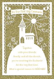 1st Holy Communion Invitation Cards On Your First Holy Communion Card Greeting Cards Hallmark