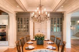 Dining Room Built Ins Built In China Dining Room Traditional With Wood Paneling Wooden