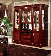 spray booth cherry wooden living room showcase design view living