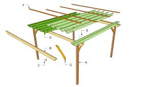 How To Make A Pergola by Diy Pergola Plans Attached To House Ideas Of Diy Pergola Plans