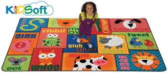 Kids Animal Rugs Kidsoft Animal Sounds Toddler Rug Carpets For Kids