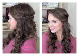 maid of honor hairstyles simple half up hairstyle my bridesmaids hairstyles youtube