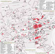 Edinburgh Map Edinburgh Map Central Edinburgh Hotels And Accommodation Map