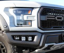 Ford Raptor Headlights - baja designs ford raptor 2017 fog pocket kit