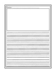 Blank Writing Template blank writing templates for students to use for any writing prompt