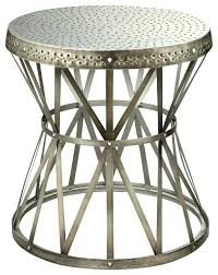 Industrial Accent Table Side Table Outdoor Metal Side Table The Cast End Tables Are