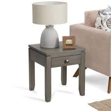 end table with shelves gray end tables accent tables the home depot