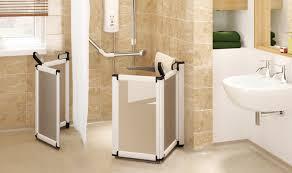 shower room and wetroom elevate half height carer doors