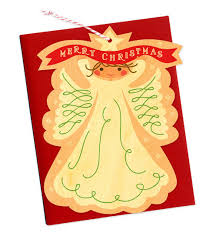wood ornament holiday cards from night owl paper goods paper crave