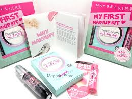 maybelline my first make up kit paket