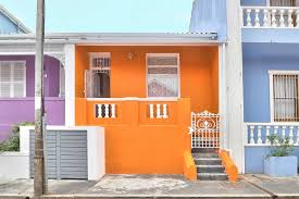 Blue House Orange Door Orange House In Colourful Bo Kaap Apartments For Rent In Cape