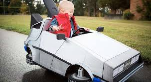 time traveling infant ensembles back to the future baby costume