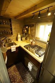 Cognac Kitchen Cabinets by Tiny House Nation Season 4 Episode 6 Cognac Shaker Ready To