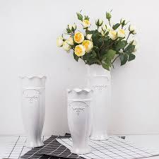 dh ceramic flower white vase porcelain vases marriage for home
