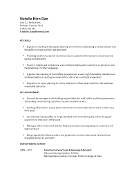 Food Prep Resume Example by Food Service Resume Food Service Cover Letter Example Food