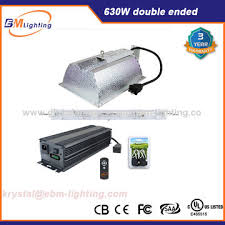 double ended grow lights china hydroponics low frequency ballast 630w double ended grow light