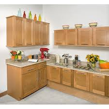 Honey Stained Inch Wall Kitchen Cabinet Free Shipping Today - Kitchen cabinets overstock