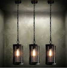 Industrial Looking Lighting Fixtures Industrial Vintage Pendant L Creative Retro Edison Bulb Hanging