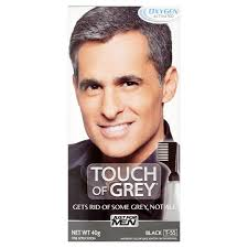 black grey hair just for men touch of grey hair colour dye ebay