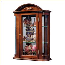 curio cabinet sensational built in curio cabinets images design