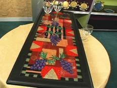 How To Make A Mosaic Table Top How To Make A Mosaic Tile Table Design Hgtv