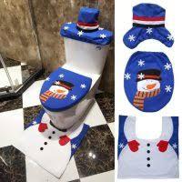 home decorating ravishing christmas snowman bathroom sets