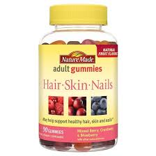 nature made hair skin nails gummy 90ct target