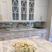 8 mirror types for a fantastic kitchen backsplash reflection revere mirror tile tilebar com
