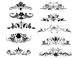 ornament vector elements vector free ornaments vectors