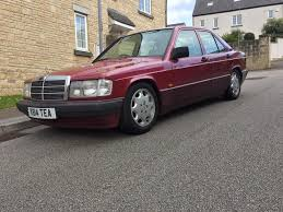 price drop 1992 mercedes 190e w201 1 8 classic lowered retro merc