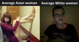 Asian Women Meme - asian women vs white women
