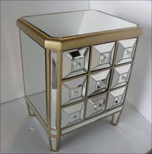 bedroom white glass bedside drawers extra tall nightstands