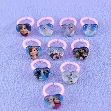 Plastic Wedding Rings by New Frozen Children Gift Plastic Ring Kids Princess Elsa Anna