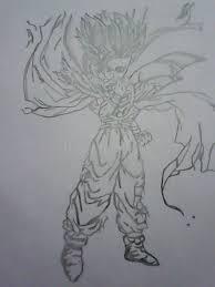 sketch goku gojita best dbz editorial stock photo image 44686868
