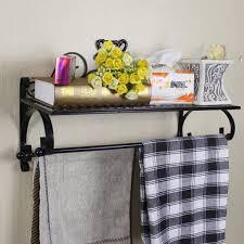 Wrought Iron Bathroom Shelves Spectacular Wrought Iron Shelves Wall Mounted Of Wrought Iron